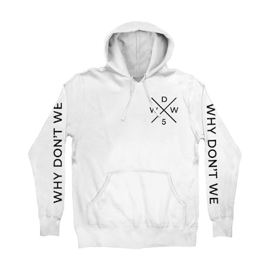 Why Don't We Hoodie | WDW5 Criss Cross Iconic Why Don't We Hoodie
