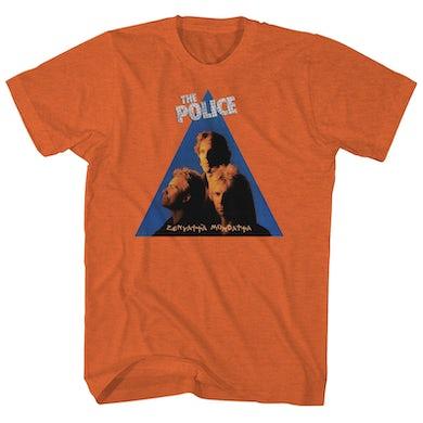 The Police T-Shirt | Zenyatta Mondatta Album Art The Police Shirt