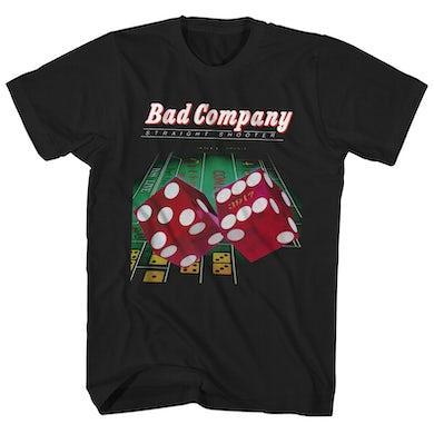 T-Shirt | Straight Shooter Album Art Bad Company Shirt