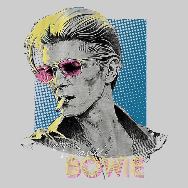 David Bowie T-Shirt | Posterized Retro David Bowie T-Shirt