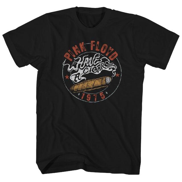 Pink Floyd T-Shirt | 1975 Have A Cigar Poster Art Pink Floyd T-Shirt