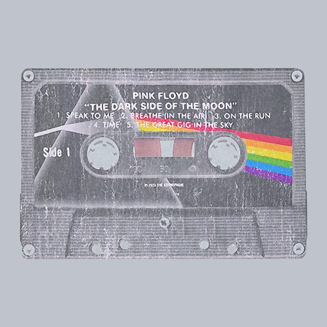 Pink Floyd T-Shirt | Dark Side Of The Moon Cassette Tape Pink Floyd T-Shirt