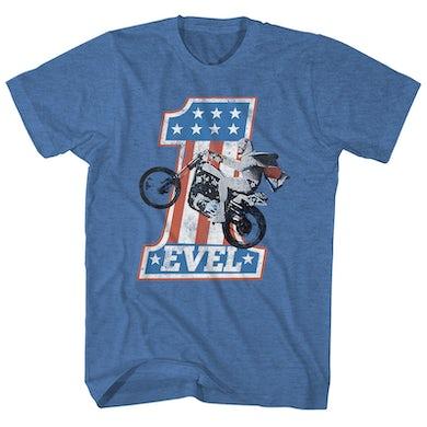 Evel Knievel T-Shirt | One Evel Knievel Shirt