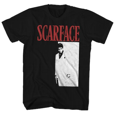 Scarface T-Shirt   Official B&W Movie Poster Scarface Shirt