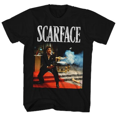 Scarface T-Shirt   Say Hello To My Little Friend Scene Scarface Shirt