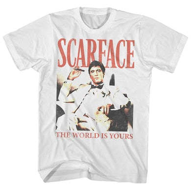 Scarface T-Shirt   Retro The World Is Yours Scarface Shirt