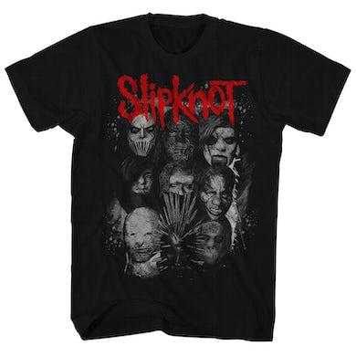 Slipknot T-Shirt | We Are Not Your Kind Red/Grey Logo Design Slipknot Shirt