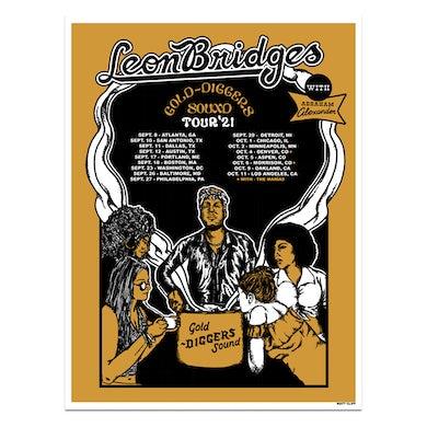 Leon Bridges GDS 2021 Tour Poster