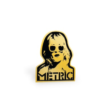 Emily Face Lapel Pin Limited Edition