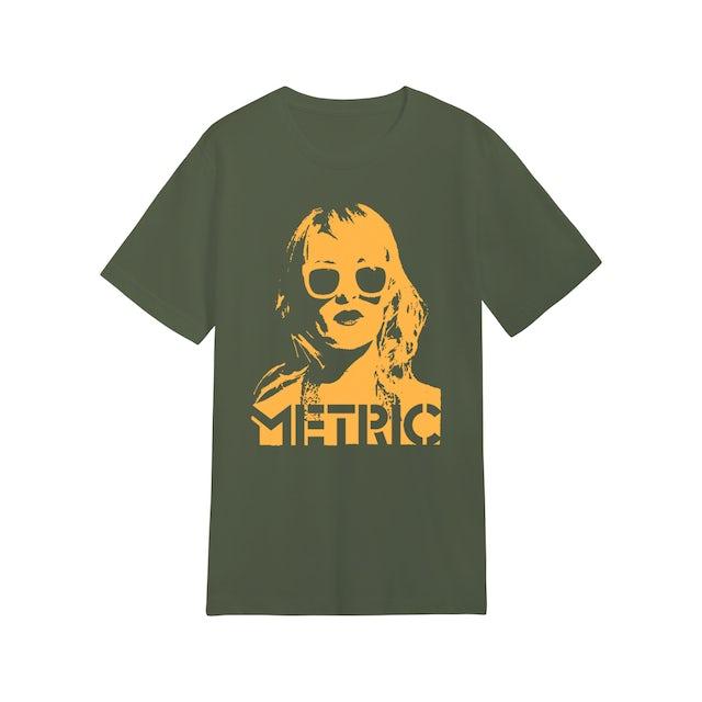 Metric Emily Face T-Shirt