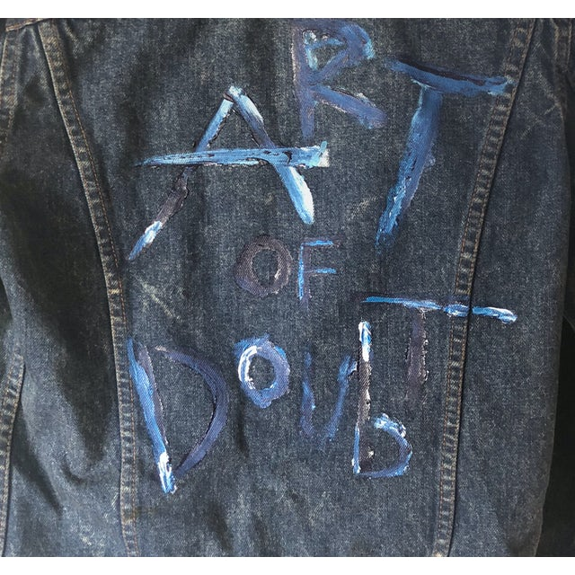 Metric Art of Doubt Levi's® Denim Jacket #1Limited Edition