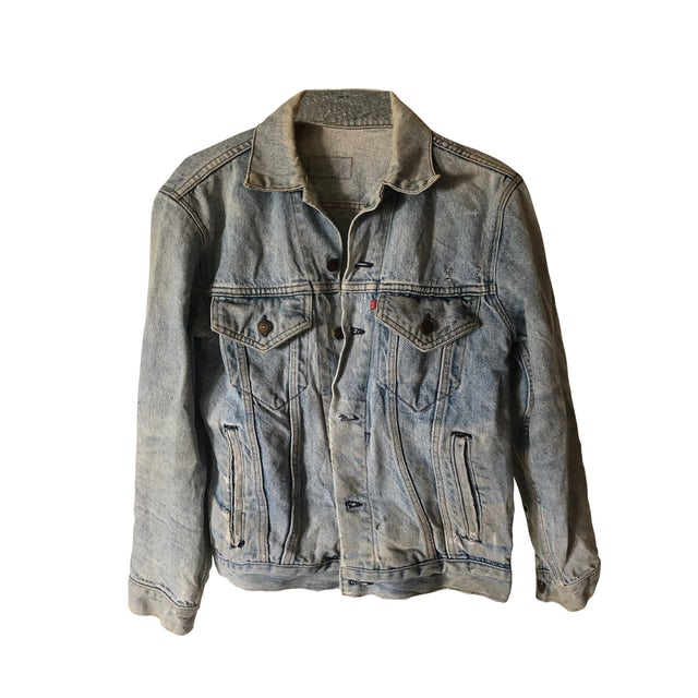Metric Art of Doubt Levi's® Denim Jacket #2Limited Edition