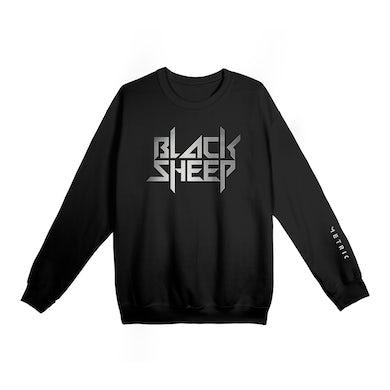 Black Sheep Silver Foil Crewneck SweatshirtLimited Edition