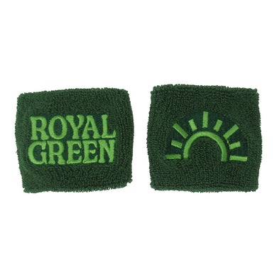 The National Royal Green Wristband Set