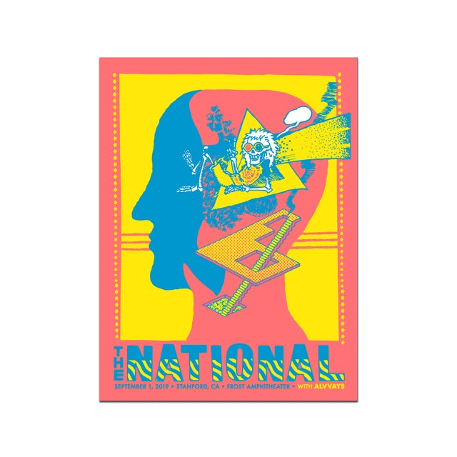 The National Stanford Frost Amphitheater Poster September 1, 2019