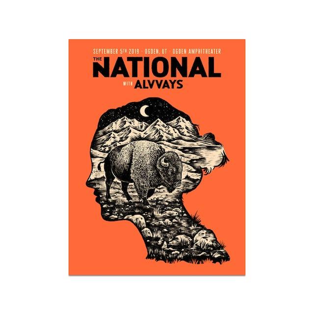 The National Ogden Amphitheater Poster September 5, 2019