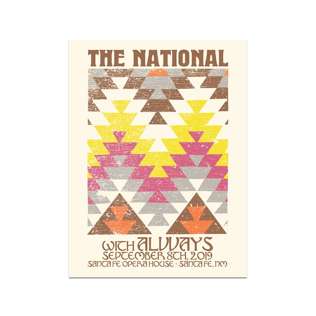 The National Santa Fe Opera House Poster September 8, 2019