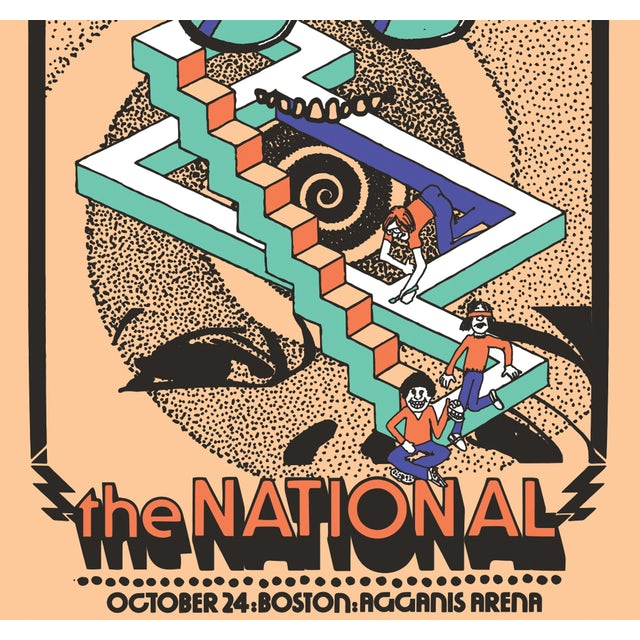 The National Boston, MA Agganis Arena Poster October 24, 2019