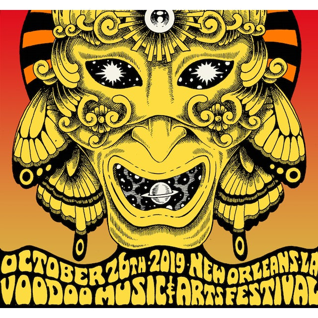 The National New Orleans Voodoo Fest Poster October 26, 2019