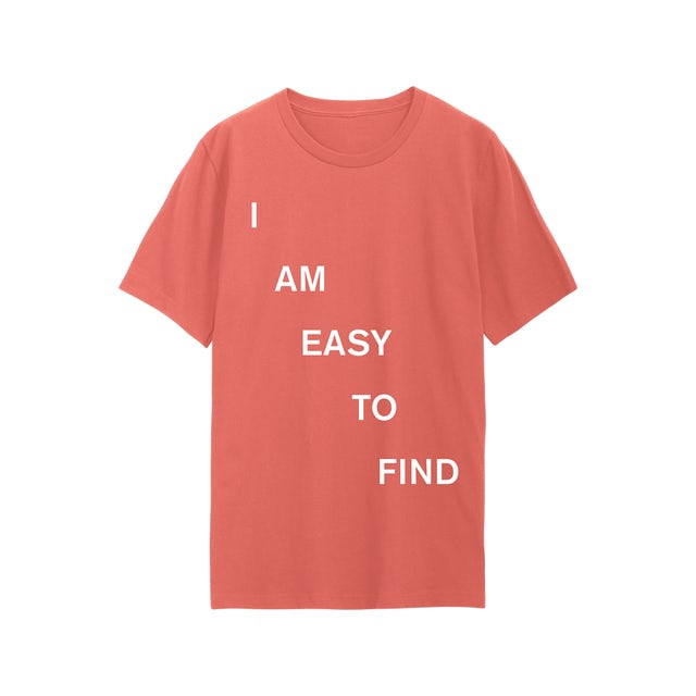 The National I Am Easy To Find - April 2019 Dates T-Shirt