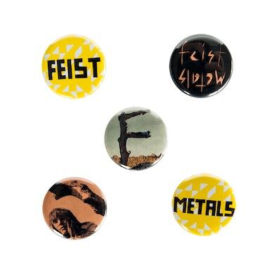 Feist Metals Button Pack