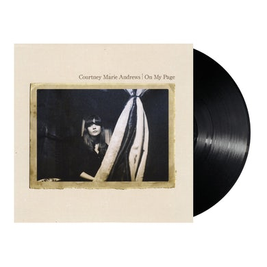 """Courtney Marie Andrews  On My Page 12"""" Vinyl (Black)"""
