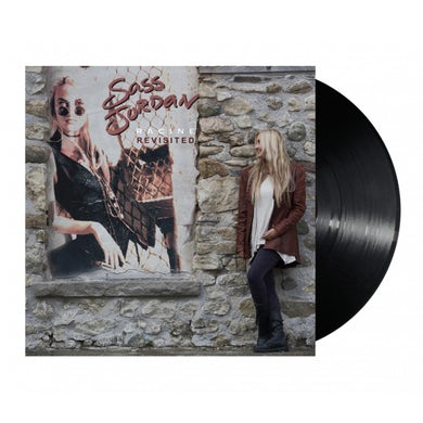 "Sass Jordan Racine Revisited Signed 12"" Vinyl"