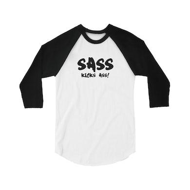 Sass Jordan Sass Kicks Ass! Raglan