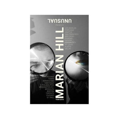 Marian Hill 2018 Unusual Tour Poster