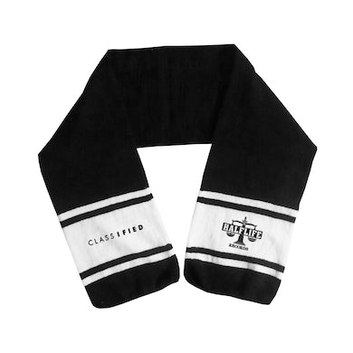 Classified Embroidered Logo Scarf