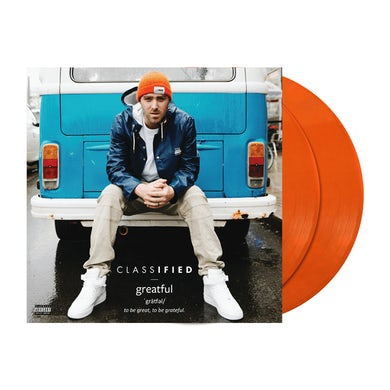 "Classified Greatful 2x12"" Vinyl (Orange)"