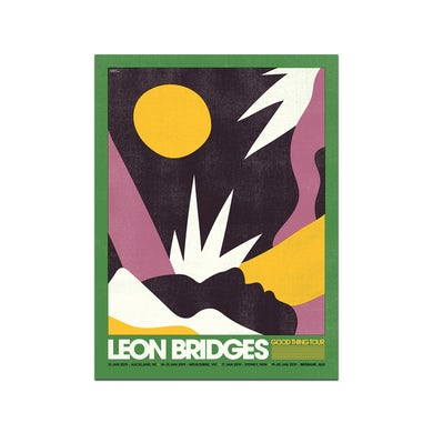 Leon Bridges Australia/NZ January 2019 Poster