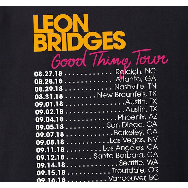 Leon Bridges Neon Tour T-Shirt - US/Canada 2018
