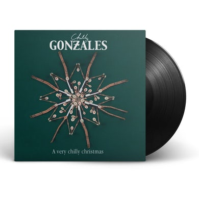 """Chilly Gonzales A very chilly christmas 12"""" Vinyl (Black)"""