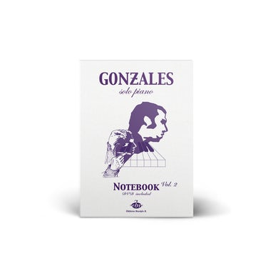 Chilly Gonzales Solo Piano - Volume 2 Notebook (Sheet Music + DVD)