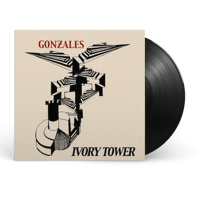 """Chilly Gonzales Ivory Tower 2x12"""" Vinyl"""