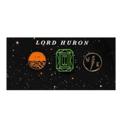 Lord Huron Vide Noir Lapel Pin Pack