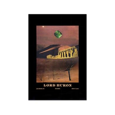 Lord Huron Los Angeles Greek PosterJune 2, 2018 (12 x 18)