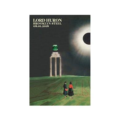 Lord Huron Brooklyn Steel PosterAugust 1, 2018 (12 x 18)