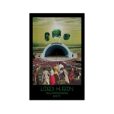 Lord Huron Hollywood Bowl Poster - August 4, 2019