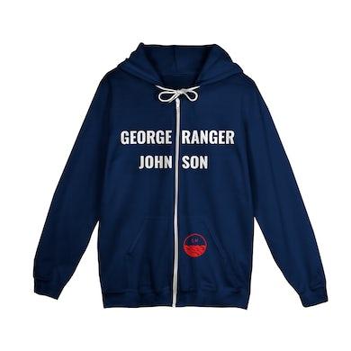 Lord Huron George Ranger Johnson Zip Hoodie