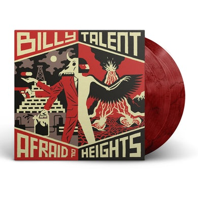 "Billy Talent Afraid of Heights 2x12"" Vinyl (Bloody Mary)"