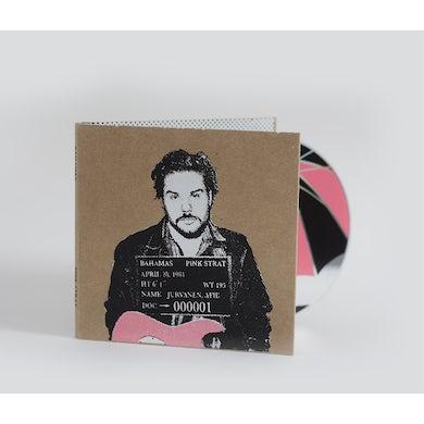 Bahamas Pink Strat Original Silkscreened CD