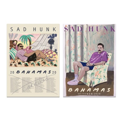 Bahamas Sad Hunk Poster Bundle