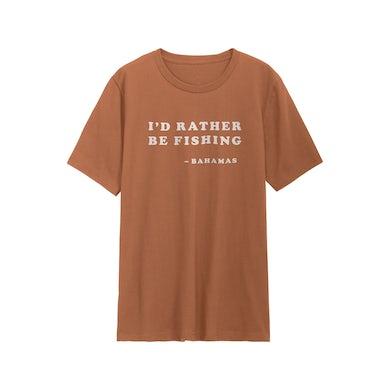 Bahamas I'd Rather Be Fishing T-Shirt