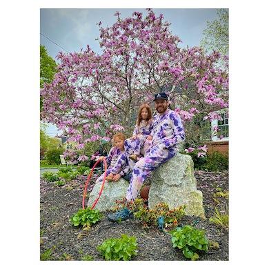 X JUNGMAVEN Kids Cosmic Purple Raglan Sweatshirt