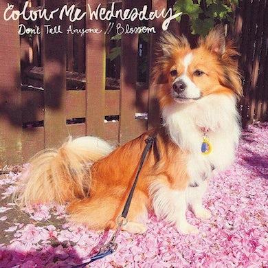 "Colour Me Wednesday 'Don't Tell Anyone / Blossom' Vinyl 7"" - Pink & White Vinyl Record"