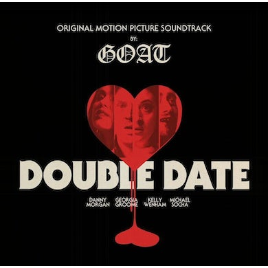 "Goat 'Double Date Original Soundtrack' Vinyl 10"" - Red & Clear Vinyl Record"