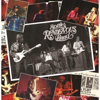 Sonics Rendezvous Band 'April 4th 1978' Vinyl LP - Clear Blue Vinyl Record