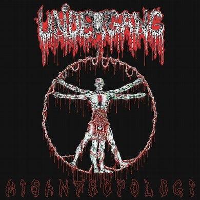 Undergang 'Misantropologi' Vinyl LP - Green Vinyl Record